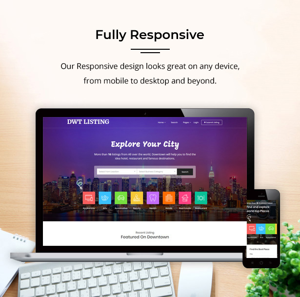 largest responsive directory theme