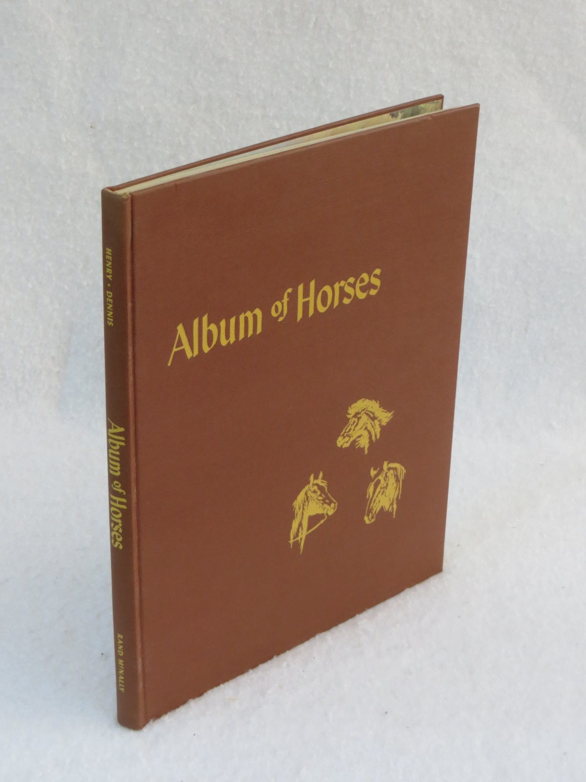 Henry And Dennis Album Of Horses Rand Mcnally