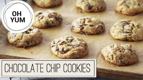 Classic Chocolate Chip Cookies | Oh Yum with Anna Olson
