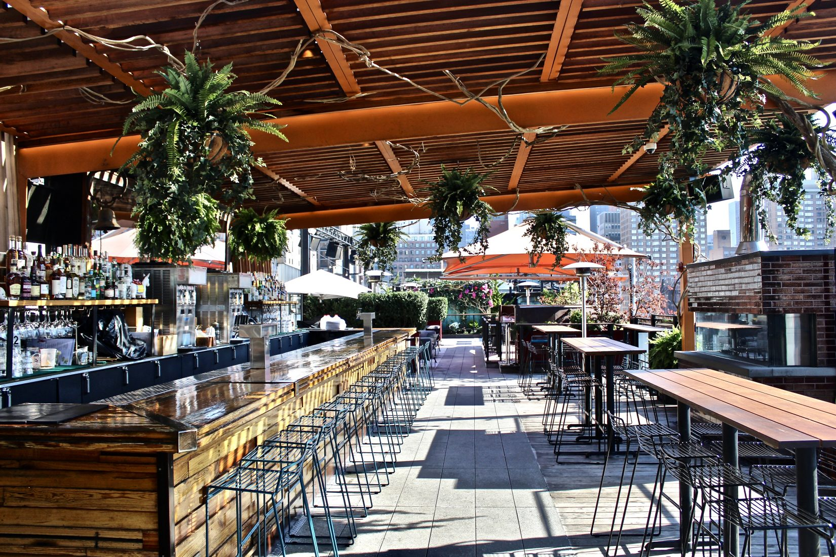 9 Rooftop Bars to Visit This Summer - Downtown Magazine on Backyard Bar With Roof id=74816