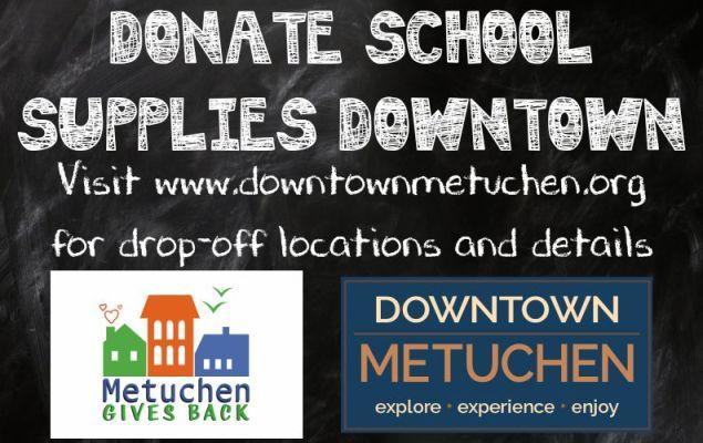 Donate School Supplies Downtown