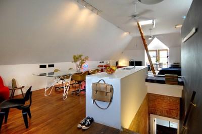 Kaiser's attic retreat