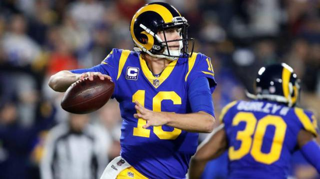 Goff will need to have a good passing game