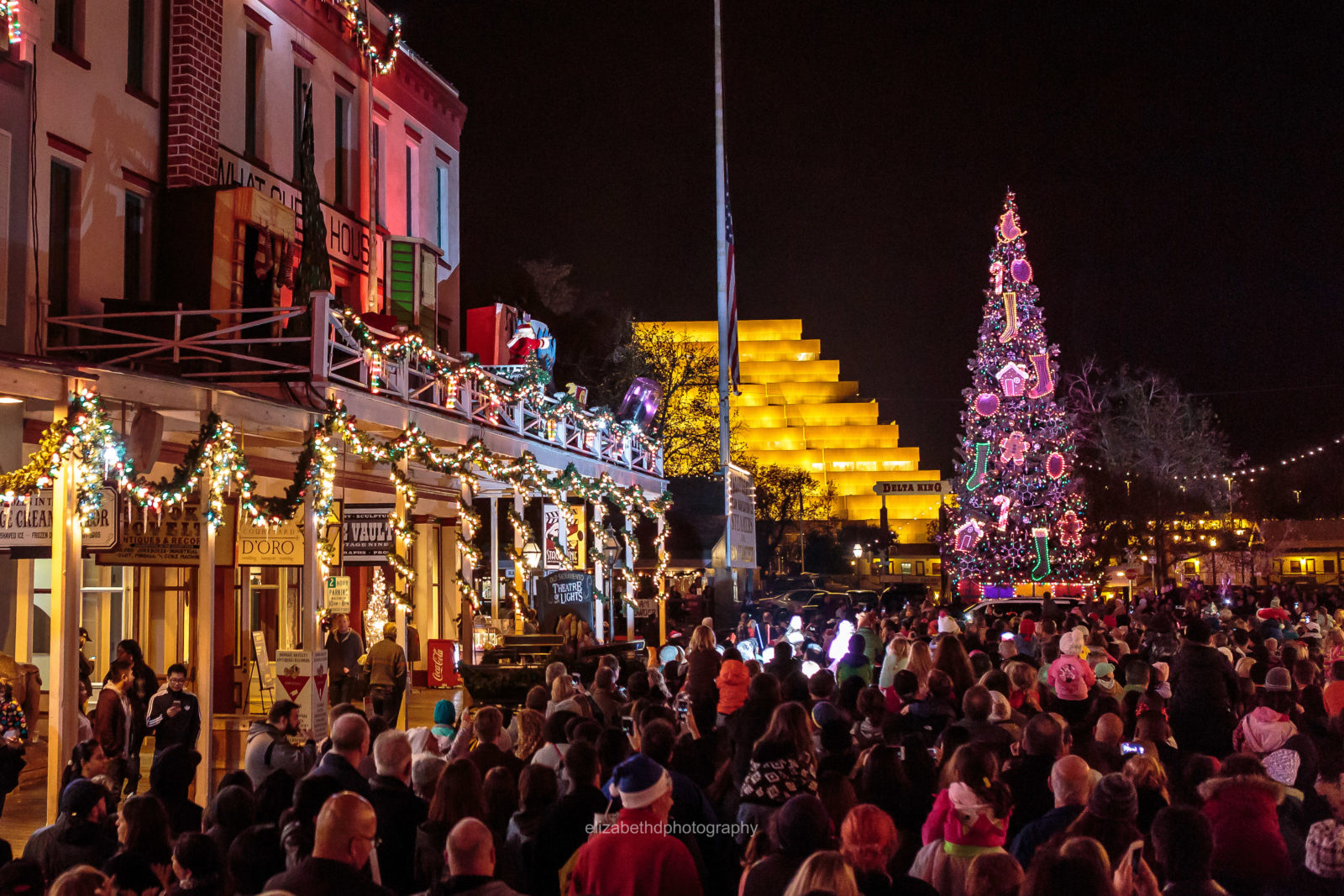 Theatre Of Lights Is A Free Holiday Program Presented By The Old Sacramento  Department Of The Downtown Sacramento Partnership In Cooperation With  Downtown ...