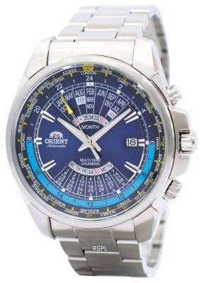 Orient Automatic Multi Year Calendar World Time EU0B002D Mens Watch