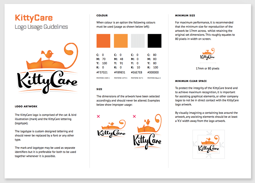 Brand Collateral Down With Design