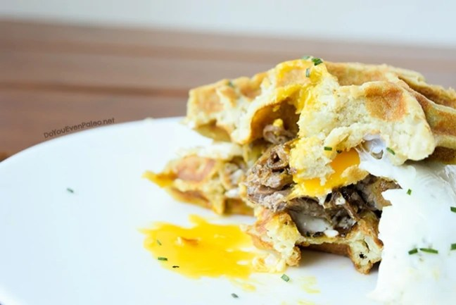 Mashed Potato Waffles | DoYouEvenPaleo.net