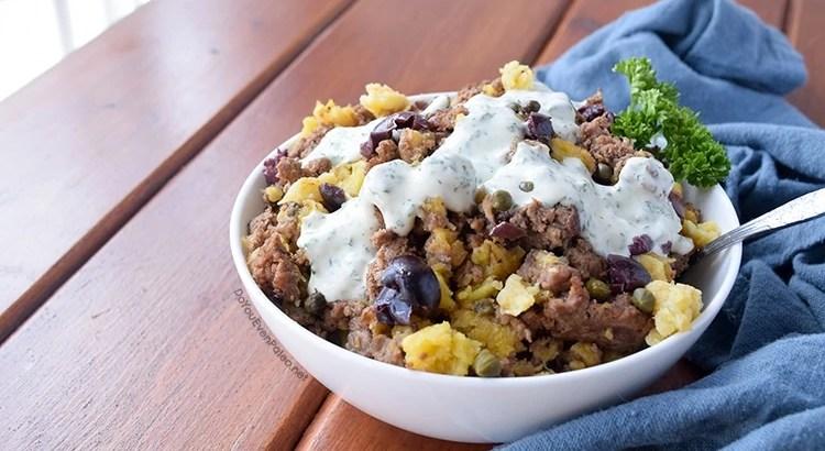 Plantain & Olive Beef Bowls | DoYouEvenPaleo.net