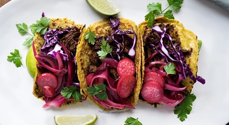 Barbacoa Brisket Tacos | DoYouEvenPaleo.net