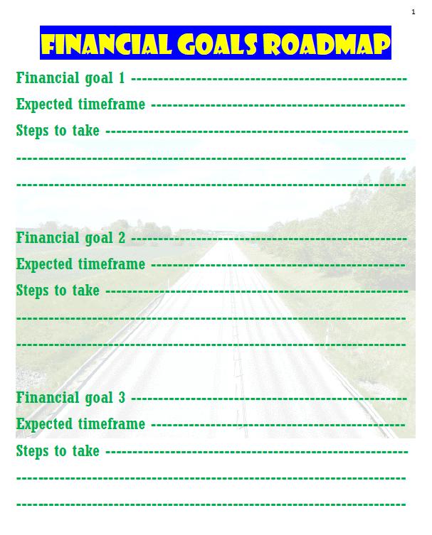 Financial Goals Roadmap