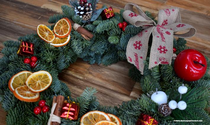Wreaths London lifestyle blog Doyouspeaklondon