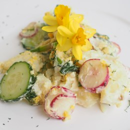 Norwegian Spring Potato Salad