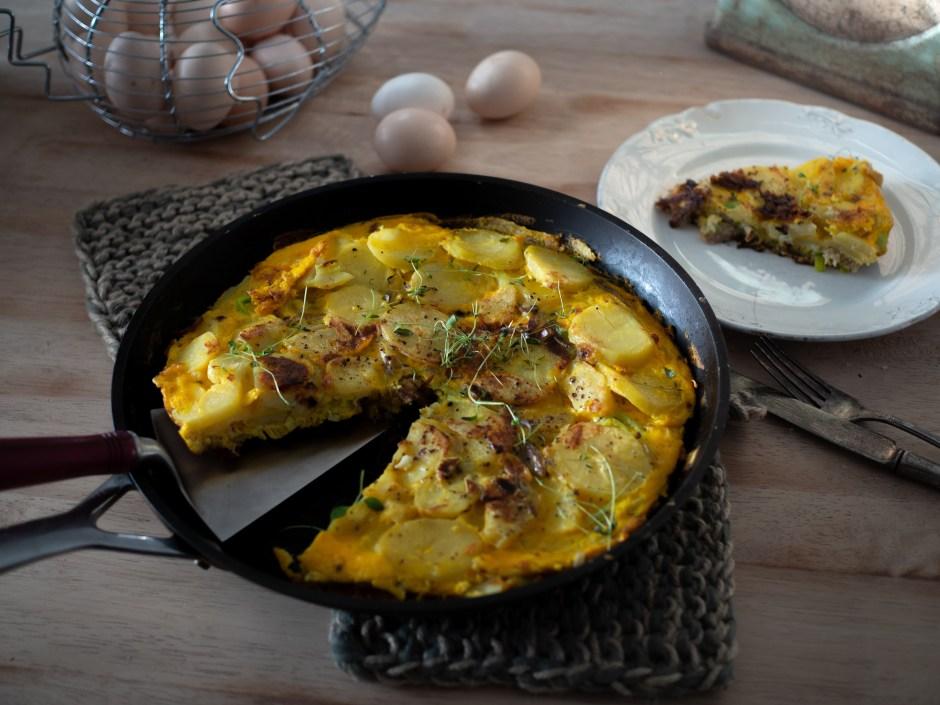 Bondeomelette (Norwegian Farm Omelette)