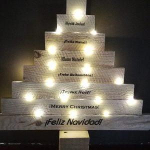 dpales árbol Navidad