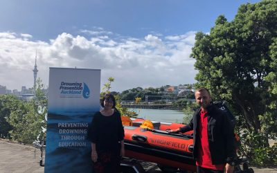 Drowning Prevention Auckland is the official ambassador for Aakron Xpress boats, outboards and trailers