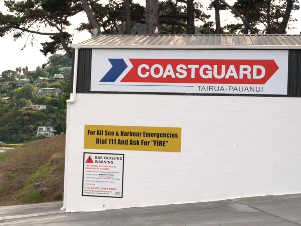 File a trip report with Coastguard