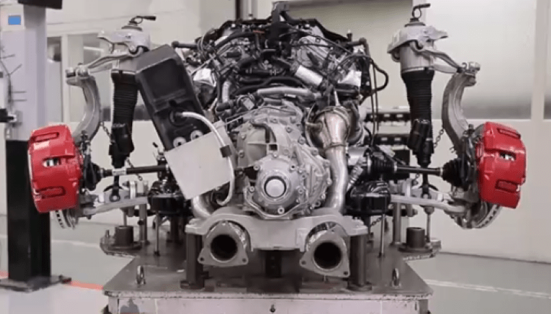 Bentley W12 Engine Factory Assembly Plant Video
