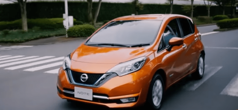2017 Nissan Note E Power Electric Vehicle Video DPCcars