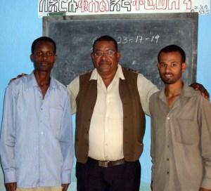 Three deaf pastors