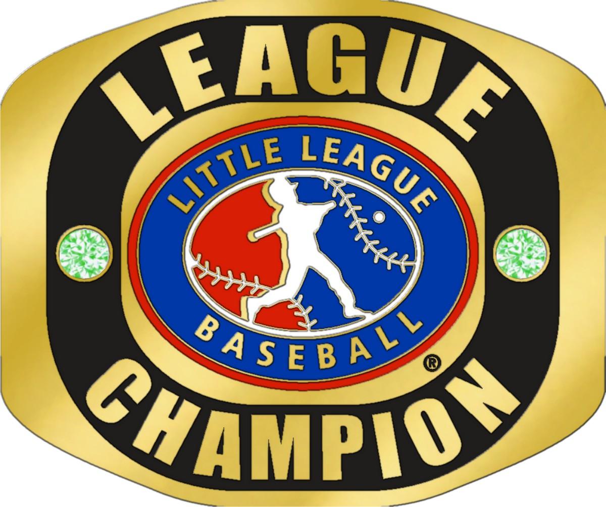 Little League LEAGUE CHAMPION Ring With Little League Logo