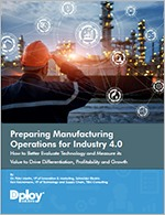 Guide to Preparing Manufacturing Operations for Industry 4.0