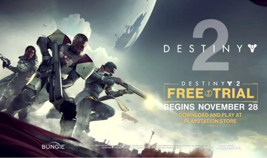 【Destiny2】11月29日より無料体験版(PS4)の配信が開始