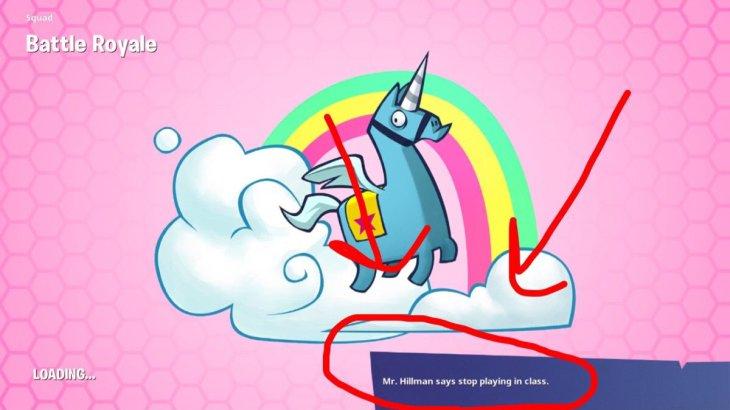 モバイル版『フォートナイト』に教師からの要望で「授業中にゲームをするな」のメッセージが追加