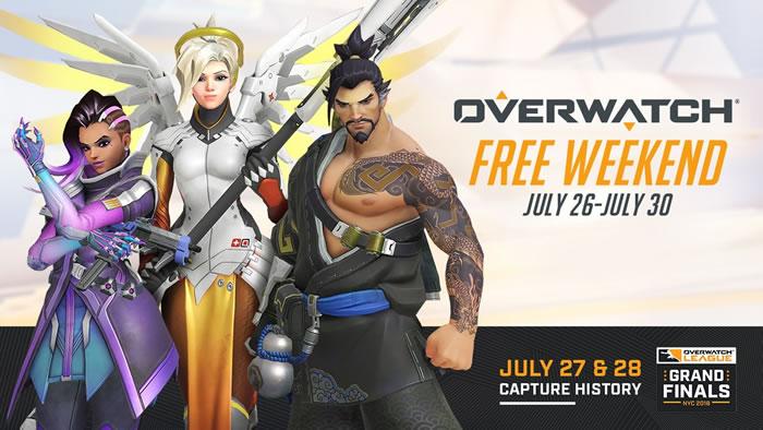 【オーバーウォッチ】PC版の週末フリーウィークエンドがアナウンス。7月27日(金)から7月31日(火)まで無料体験プレイ可能