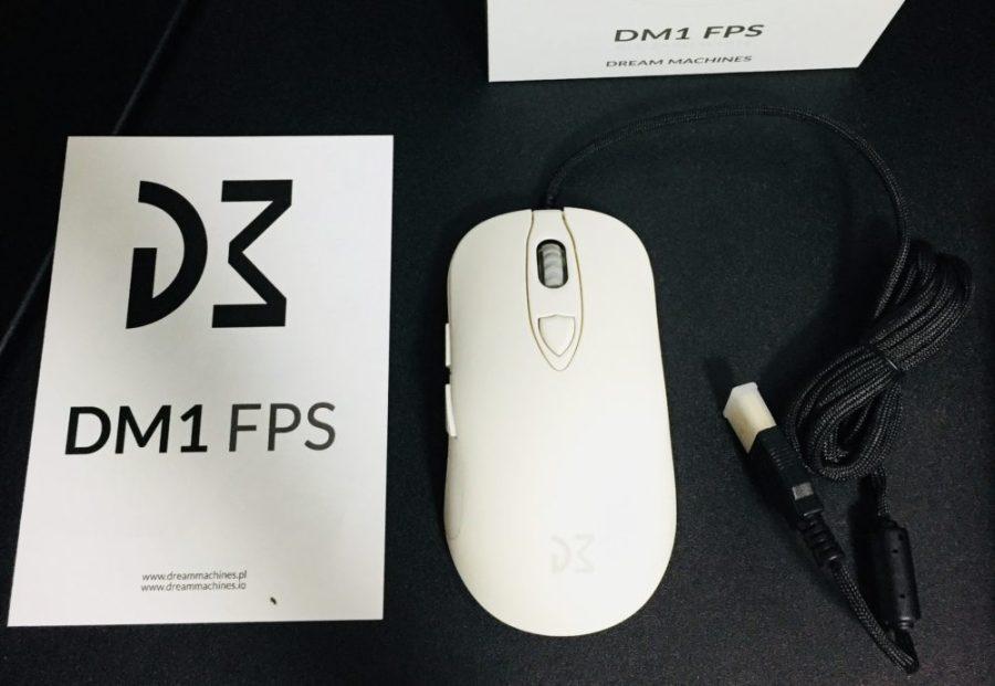Dream Machines社ゲーミングマウス「DM1 FPS」レビュー。FPS/TPSプレイヤーに嬉しい設計が随所に見られる