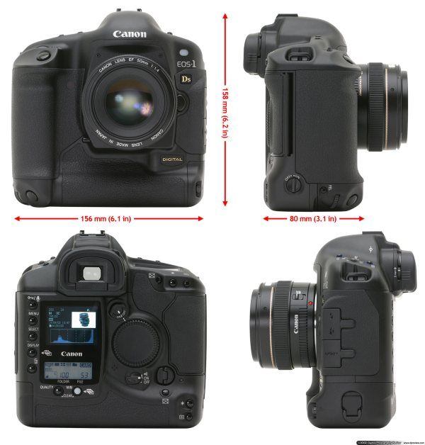Canon EOS-1Ds Review: Digital Photography Review