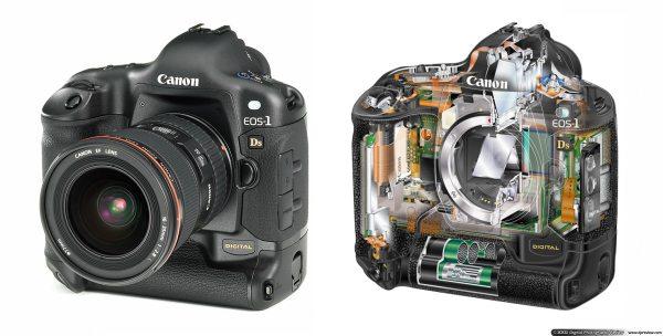 Canon EOS-1Ds, 11 megapixel full-frame CMOS: Digital ...