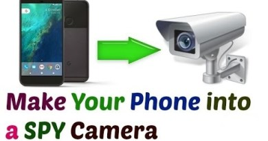 Use your phone as a spy camera