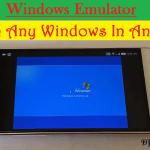 Windows emulator