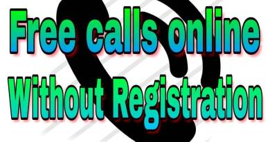 Free calls online without registration