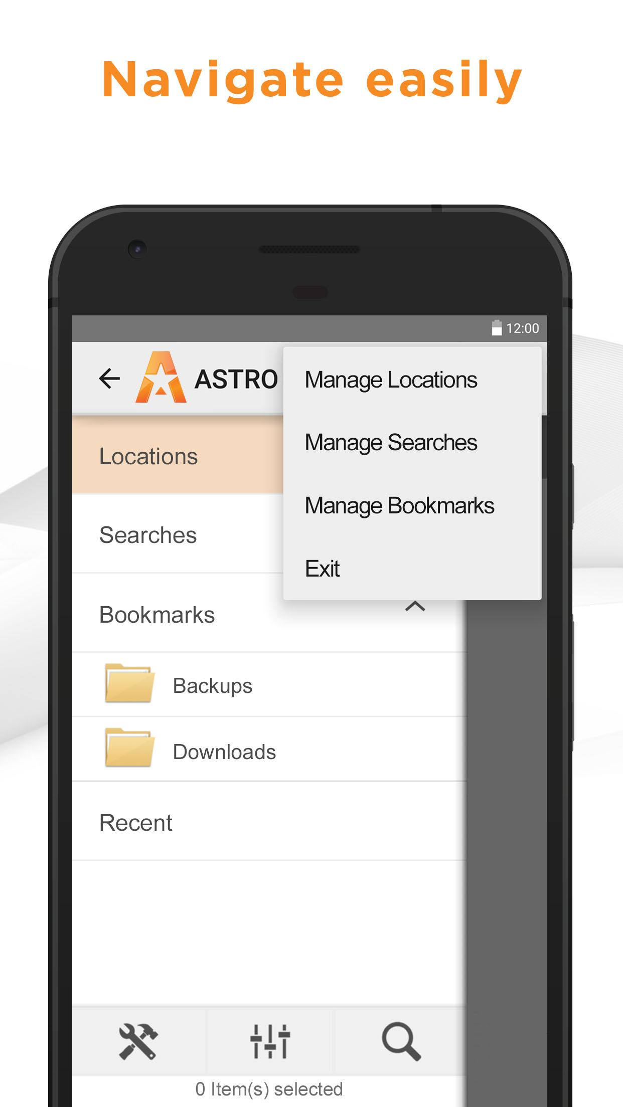 Astro File Manager Major 2
