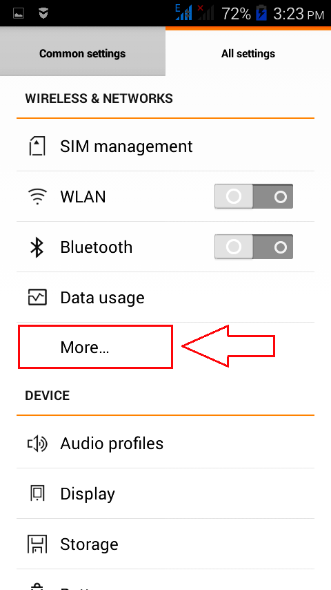 Mobile Network Not Available 3