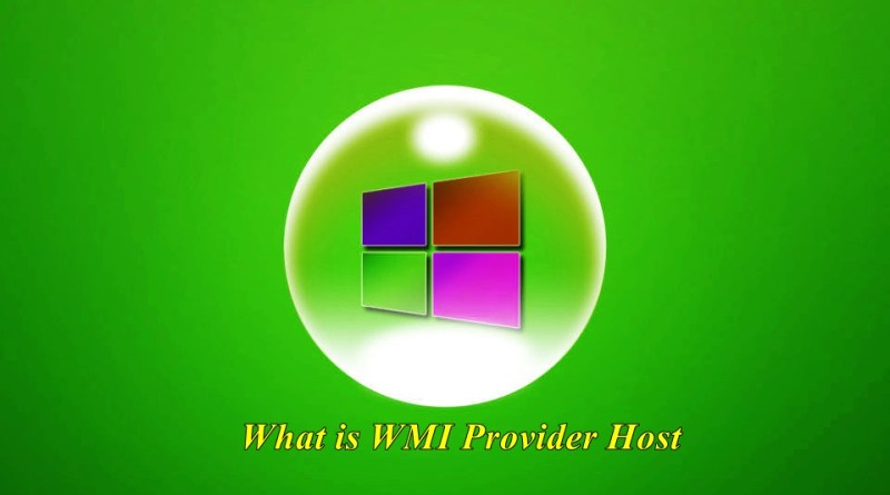 What is WMI Provider Host