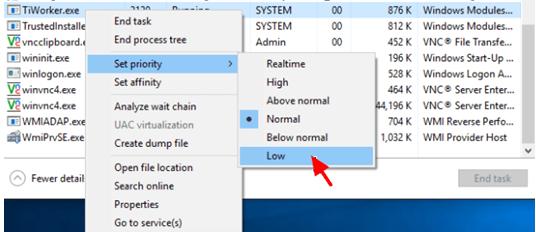 what is windows modules installer service