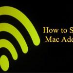 how to spoof mac address