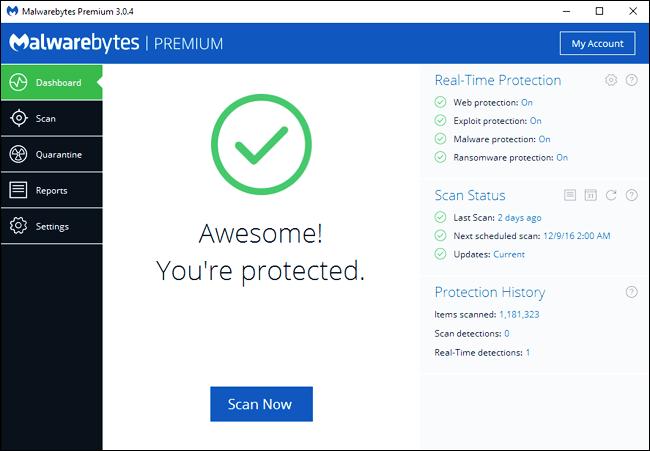 Windows Defender and Avast Windows 10 8