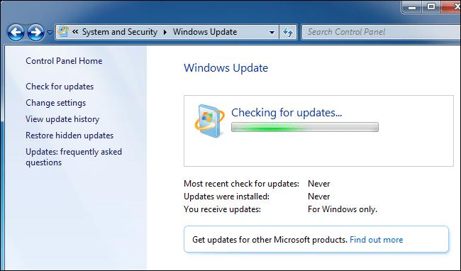 windows stuck on downloading updates