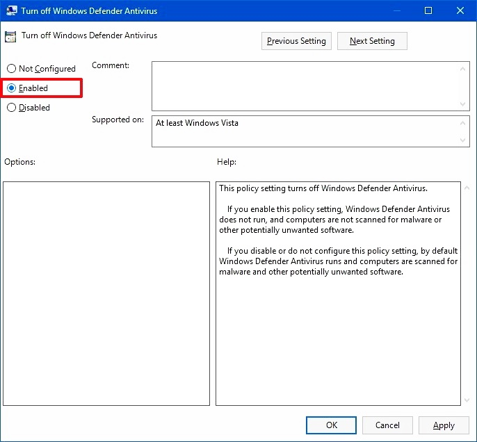 How to Disable Windows Defender 11