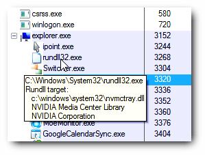 Rundll32.exe Windows Host Process (rundll32) 2