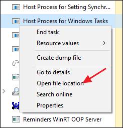 Host Process for Windows Tasks 3