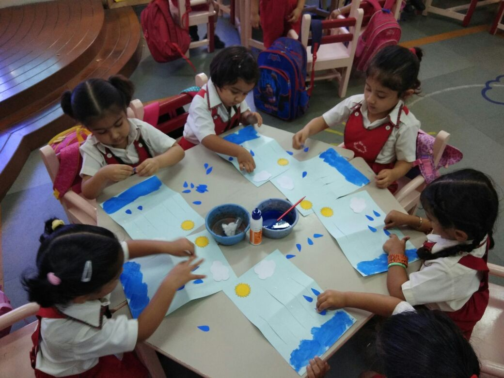 Class Nursery Theme Of The Month July Water Cycle