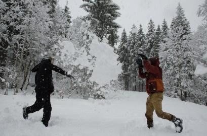 Schneehaufenschlacht