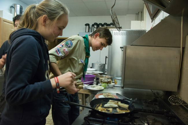 Merit Badge Cooking