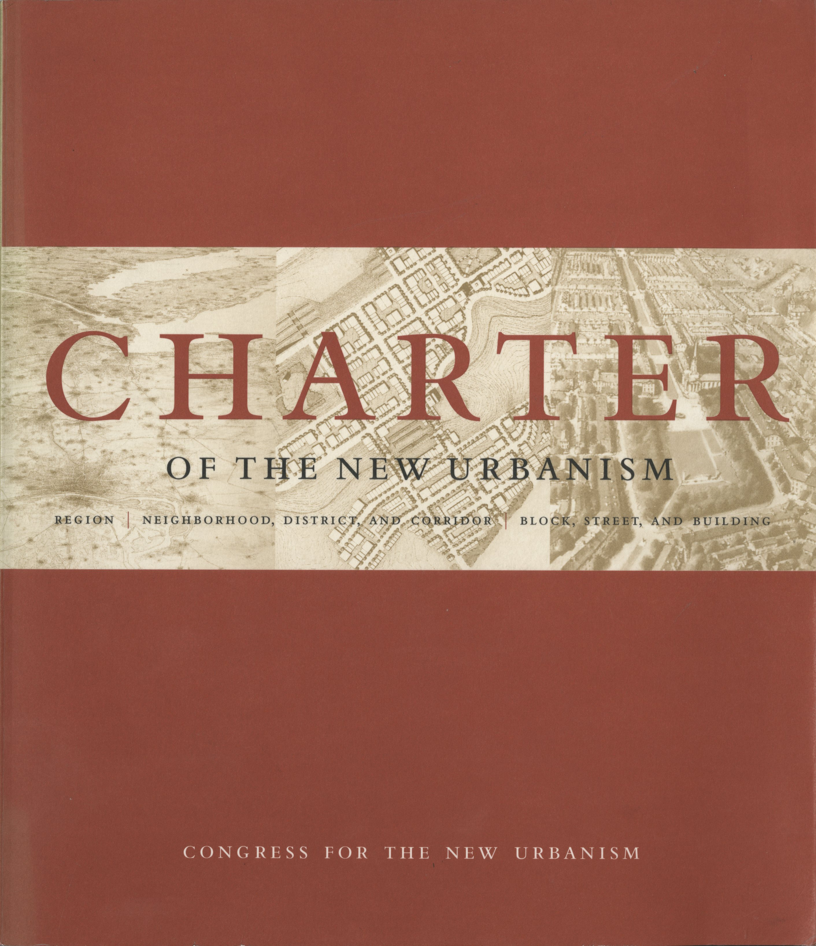 """""""Charter of the New Urbanism 1st Edition"""" Book Cover"""
