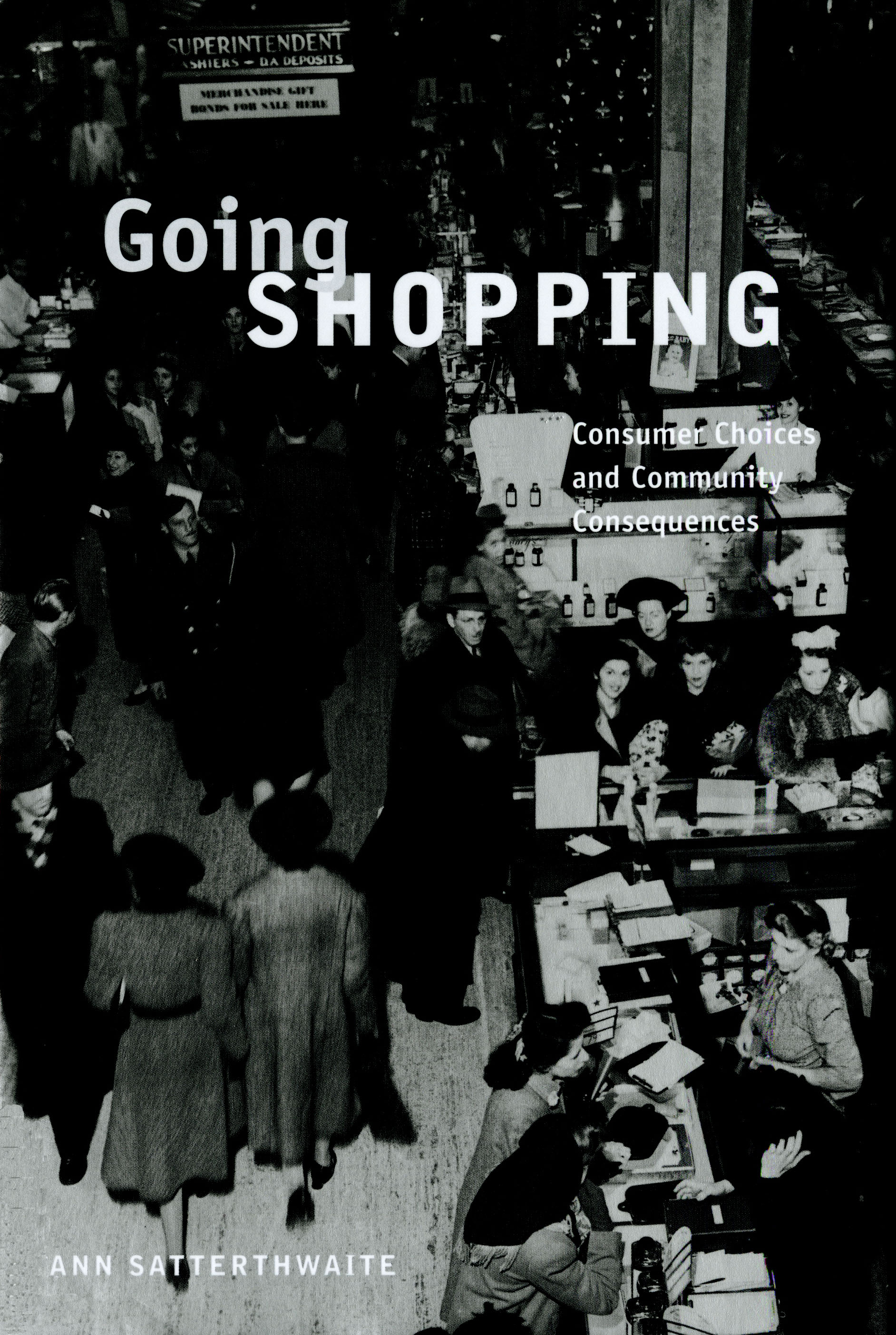 """""""Going Shopping"""" Book Cover"""
