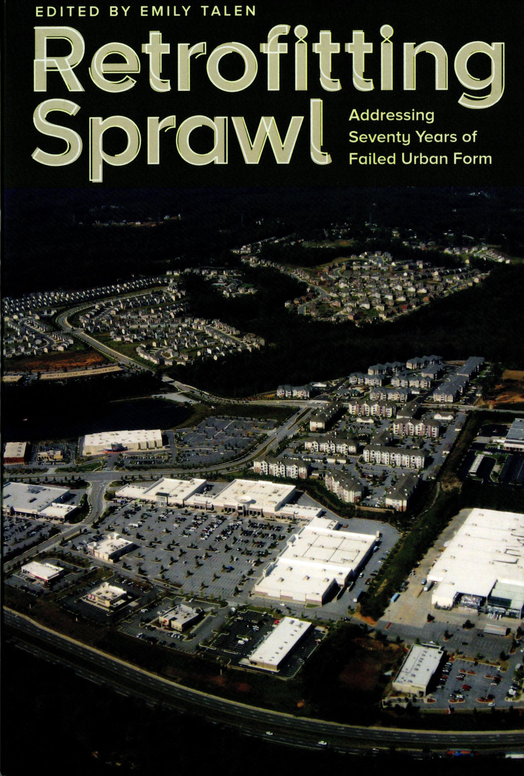 """""""Retrofitting Sprawl"""" Book Cover"""